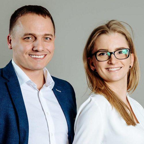 Magda Metrycka i Dariusz Donat