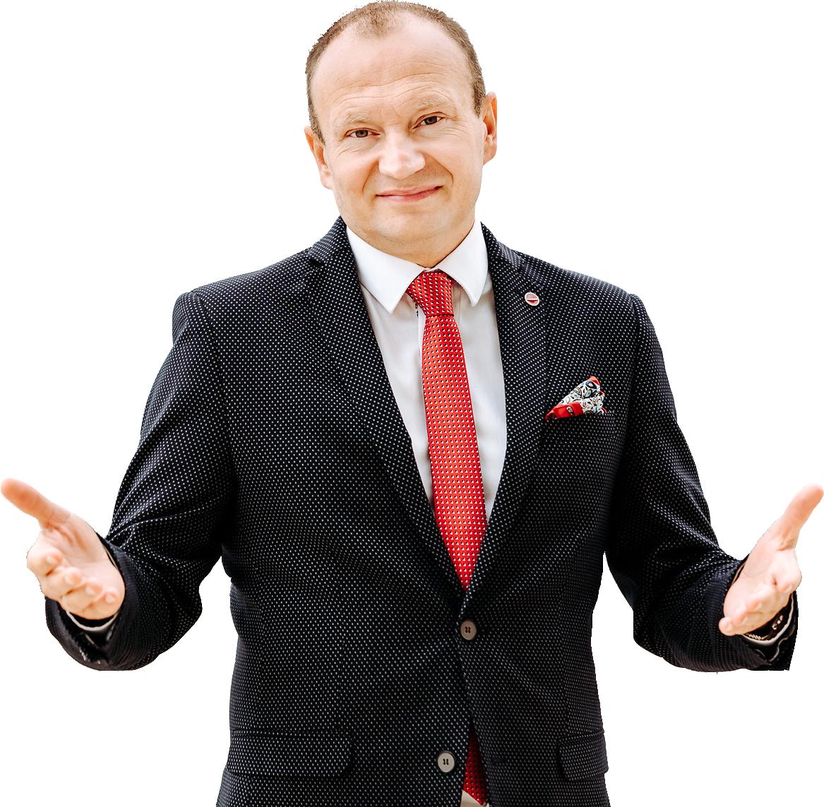Wojciech Orzechowski - Mentor. Rentier. Autor książek.