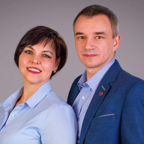 Justyna i Artur Nowak